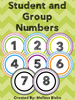 Colorful Student and Group Numbers