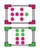 Colorful Subitizing Cards