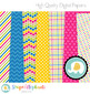 Colorful Summer Digital Papers