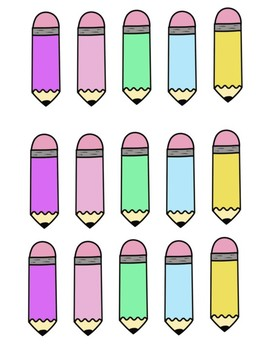 Colorful Supplies Bundle
