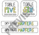 Colorful Supply Bin Labels - EDITABLE