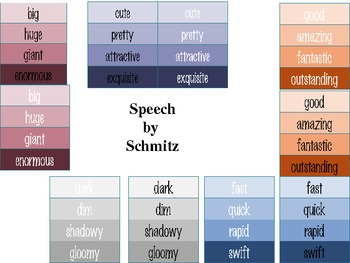 Colorful Synonyms on Paint Chips- a lesson in colorful ...