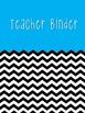 Colorful Teacher Binder Printables