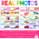 Colorful Teacher Tool Box Labels with Photographs