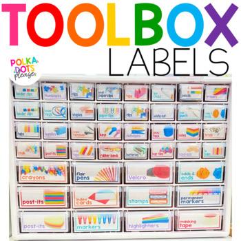 Teacher Tool Box Labels