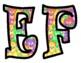 Colorful Teddy Bear Bulletin Board Letters