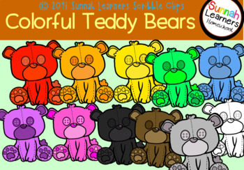 Colorful Teddy Bears