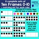 Colorful Ten Frames Clipart