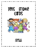 Colorful Tens Frame Cards