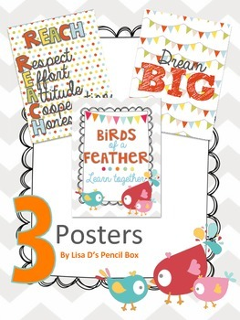 Colorful Themed Posters