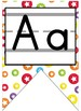 Colorful Traditional Manuscript Alphabet Banner