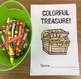 Colorful Treasure Basic Concepts Coloring Book: NO PREP!