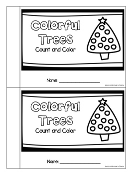 Colorful Trees - Counting and Colors Practice