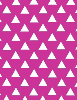 Colorful Triangle Backgrounds