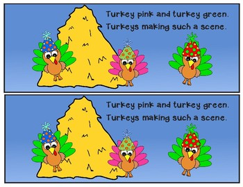 Colorful Turkey Readers