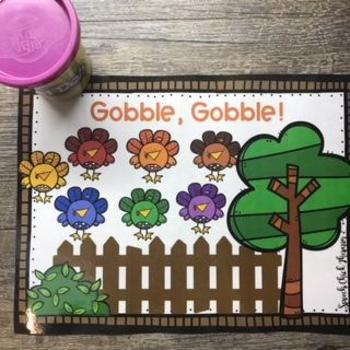 Colorful Turkeys: Interactive Activities for Speech Therapy