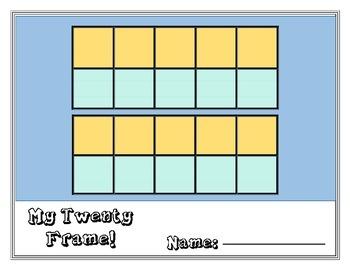 Colorful Twenty Frame Mats!