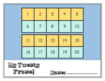 Colorful Twenty Frame Mats!