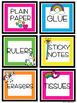 Colorful Unicorn  Classroom Decor - Fun & Bright ~Editable~