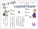 Colorful Vandertramp Passé Composé Chart