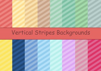 Colorful Vertical Stripes Backgrounds
