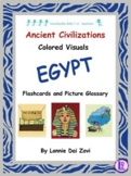 Colorful Visuals of the Ancient Egypt Include Me© Series