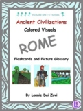 Colorful Visuals of the Ancient Rome Include Me© Series
