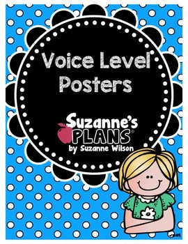 Colorful Voice Levels Poster Set