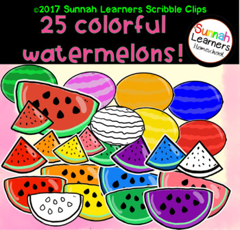 Colorful Watermelons