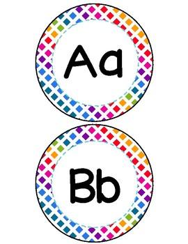 Colorful Word Wall Headers - Colorful Rainbow Theme