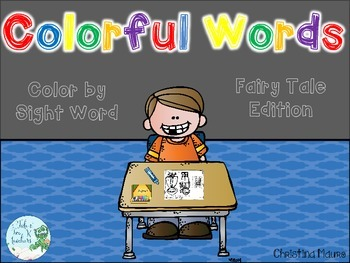 Colorful Words {Fairy Tale Edition}