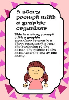 Colorful Writing Prompt and Graphic Organizer