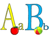 Colorful and Fun Alphabet