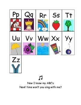 Colorful and Fun Alphabet Chart!