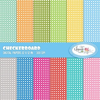 Checkers digital papers