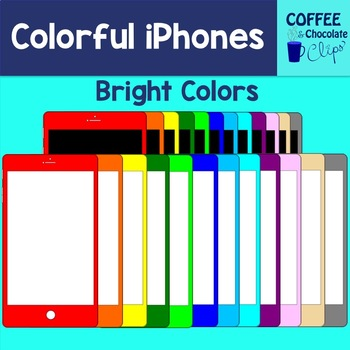 Colorful iPhones/iPads