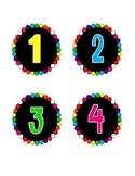 Colorful numbers 0-9