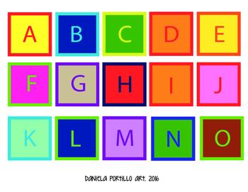 Colorfull ABC
