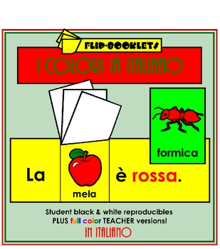 Colori (Color Flip Booklets in Italian)