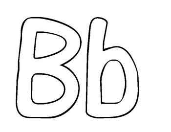 Coloriage : L'alphabet - Color the alphabet