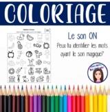 Coloriage: Le son ON