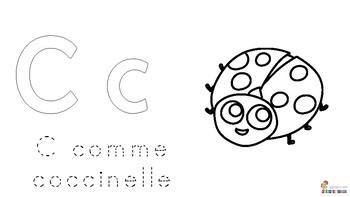 Coloriage alphabet français
