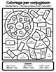 Coloriage par conjugaison - Aller et faire au temps présent de l'indicatif