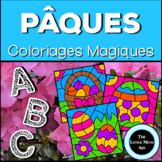 Coloriages Magiques de Pâques: Alphabet | French Easter Co