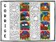FRENCH WORKSHEETS COLOR BY CODE - Colorie par code - MODIFIABLE - NOVEMBRE