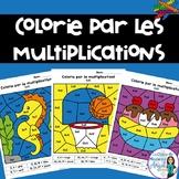 Colorie par les multiplications