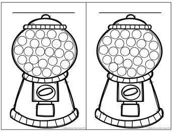 Colorie une boule de gomme - système de gestion de comportement GRATUIT