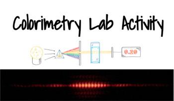 Colorimetry Lab Activity