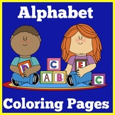 Alphabet Coloring Pages | Sheets