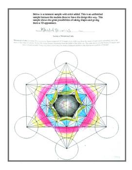 Coloring A Metatron Cube